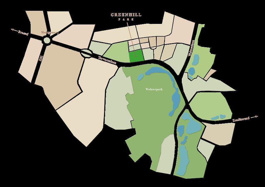 Plan Green Hill park